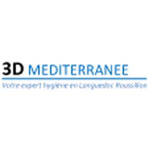 logo 3D Méditerrannée