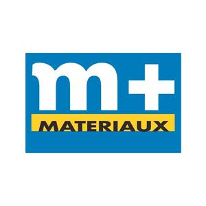 Logo M+ matériaux