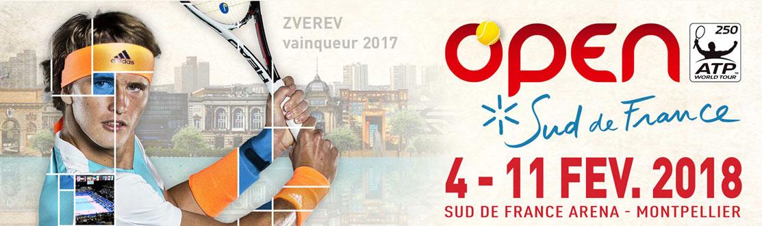 Offres événementielles Sud de France Arena Montpellier Open Sud de France