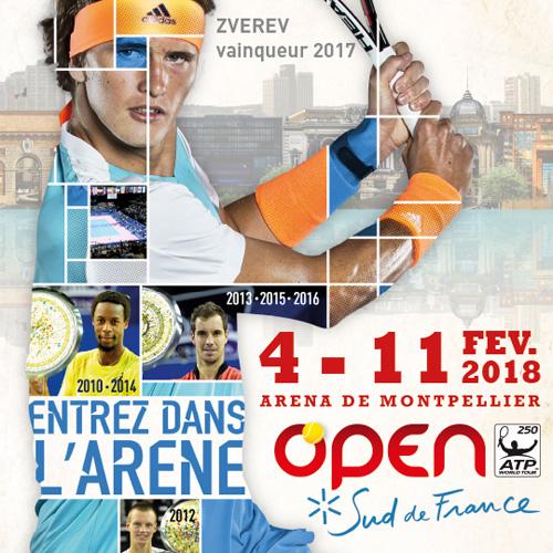 Open Sud de France Sud de France Arena Montpellier
