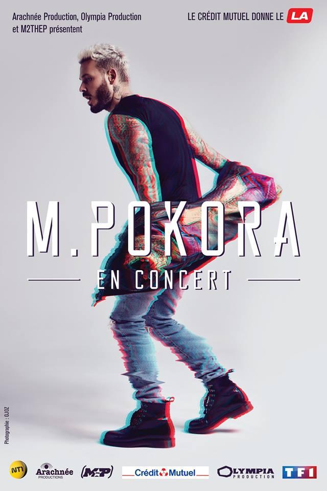Matt Pokora en concert à la SUd de France Arena de Montpellier